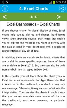 Learn Excel Dashboards poster