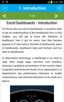 Learn Excel Dashboards screenshot 3