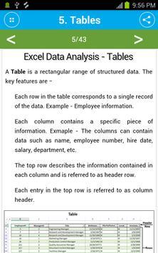 Learn Excel Data Analysis screenshot 1