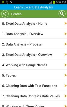 Learn Excel Data Analysis screenshot 2
