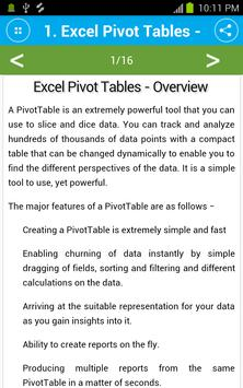 learn excel pivot tables apk download free books reference app