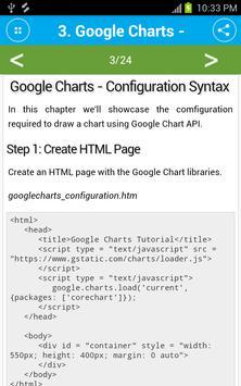 Learn Google Charts apk screenshot