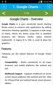 Learn Google Charts poster