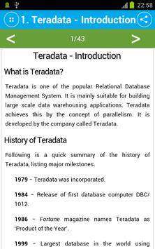 Learn Teradata for Android - APK Download