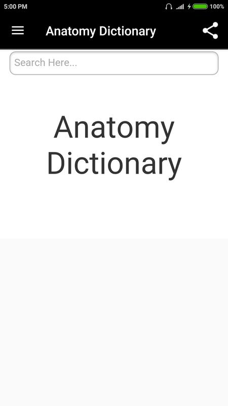 Anatomy Dictionary Apk Download Free Education App For Android