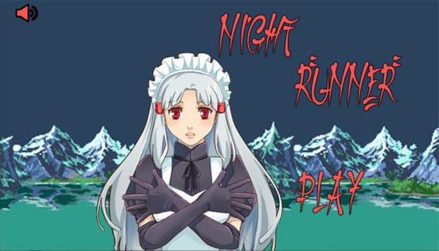 8 Bit Night Runner poster