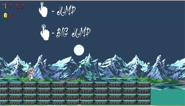 8 Bit Night Runner apk screenshot