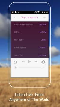 All Honduras Radios in One Free screenshot 4