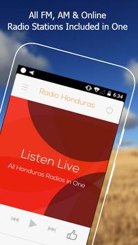 All Honduras Radios in One Free poster