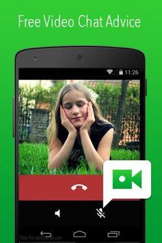 Live Video Chat Message Advice apk screenshot