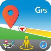 GPS Voice Maps & Navigation Route - Path Finder icon