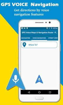 GPS Voice Maps & Navigation Route - Path Finder screenshot 13
