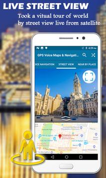 GPS Voice Maps & Navigation Route - Path Finder screenshot 25