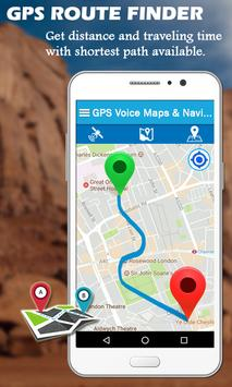 GPS Voice Maps & Navigation Route - Path Finder screenshot 5