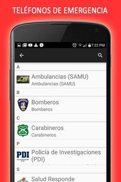 Sismos en Chile screenshot 4