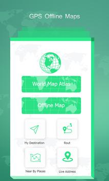 Gps offline maps route navigation world map for android apk gps offline maps route navigation world map poster gumiabroncs Image collections