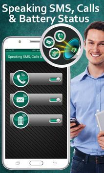 Caller Name Speaker : Call & SMS Name Talker apk screenshot