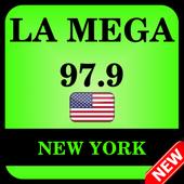 La Mega 97.9 New York icon