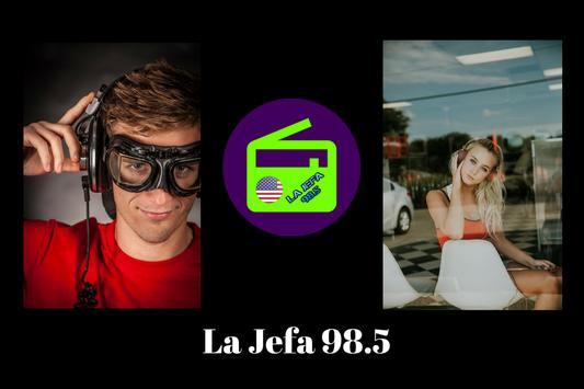 La Jefa 98.5 poster