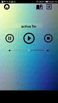 activa fm radio free apps music alternative poster
