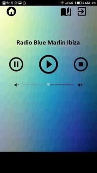 Radio Blue Marlin Ibiza music apps free estation poster