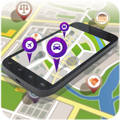 GPS Navigation and Map Tracker icon