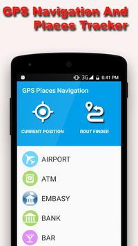 GPS Navigation and Map Tracker poster