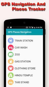 GPS Navigation and Map Tracker apk screenshot