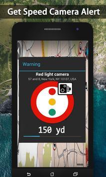 जीपीएस मानचित्र खोजक - लाइव स्पीड कैमरा डिटेक्टर स्क्रीनशॉट 10