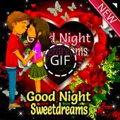 Good Night GIF icon