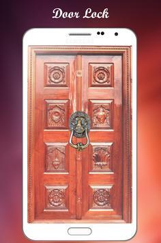 Hanuman door lock screen poster