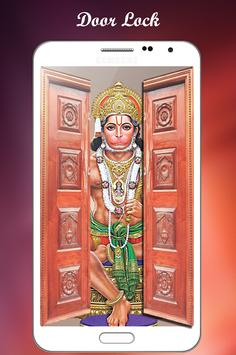 Hanuman door lock screen screenshot 5