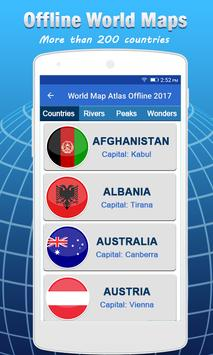 Offline map navigation route world map atlas for android apk offline map navigation route world map atlas poster gumiabroncs Gallery