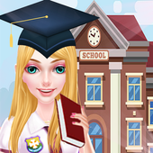 High School Girl Life : Love Dress Up icon