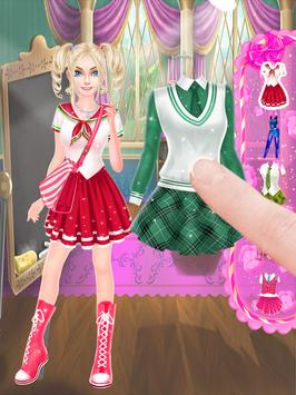 High School Girl Life : Love Dress Up apk screenshot
