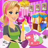 Princess room cleanup & Girly room decoration icon