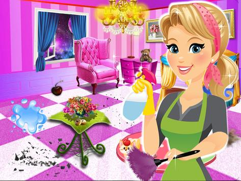 Princess room cleanup & Girly room decoration poster