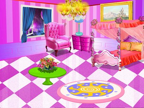 Princess room cleanup & Girly room decoration apk screenshot