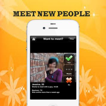 Free Badoo Meet friends Guide poster