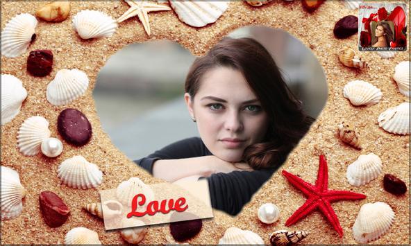 Lovely Photo Frames - romantic love overlay effect poster