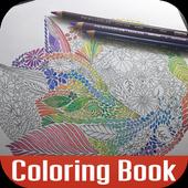 Adult Coloring: Animal Kingdom icon