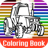 Combine Harvesters Coloring icon
