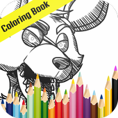 Foxy Coloring FNAF Paint icon