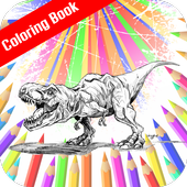 Image Jurassic Craft Coloring icon