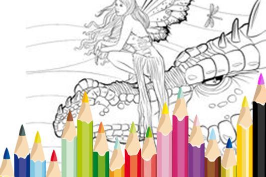 Pet Dragon Craft Coloring apk screenshot