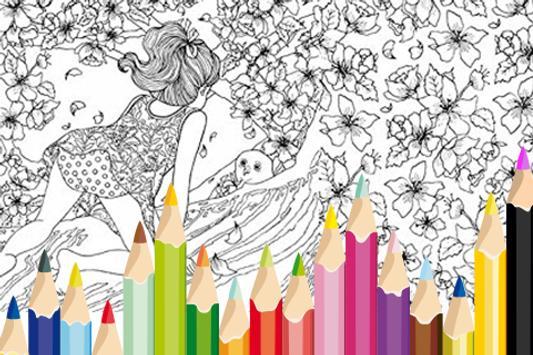 Secret Garden Coloring Book poster