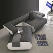 Gray Sofa icon
