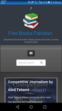 Free Books Pakistan poster