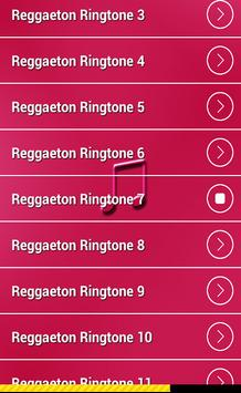 Reggaeton Ringtones 2016 apk screenshot