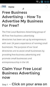 freebusinessadvertisinguk screenshot 2